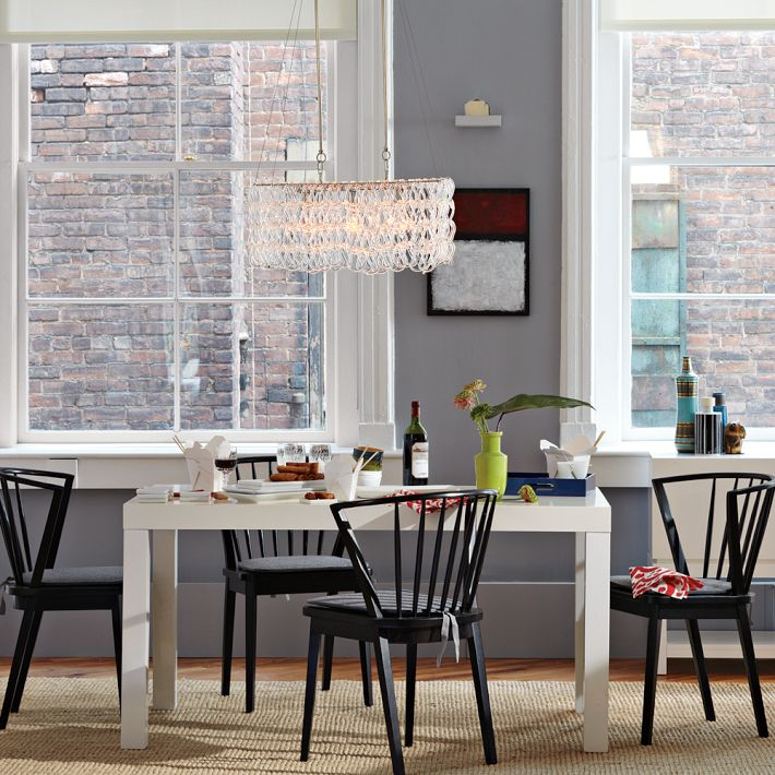 Dining rooms with west elm two thirty five designs for West elm living room ideas