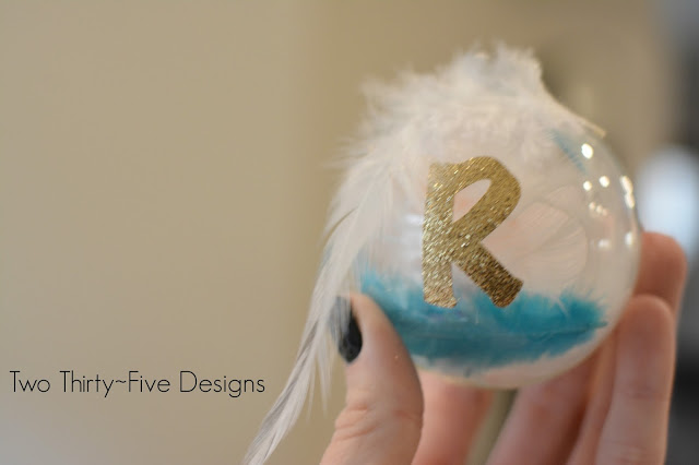 Easy 5 minute DIY Ornaments