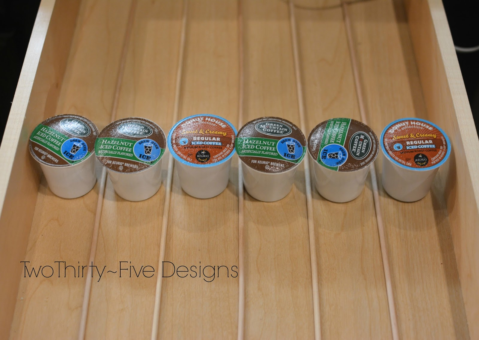2 Diy K Cup Organizer Two Thirty Five Designs