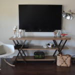 DIY Wall Mounted Tele with Hidden Cords