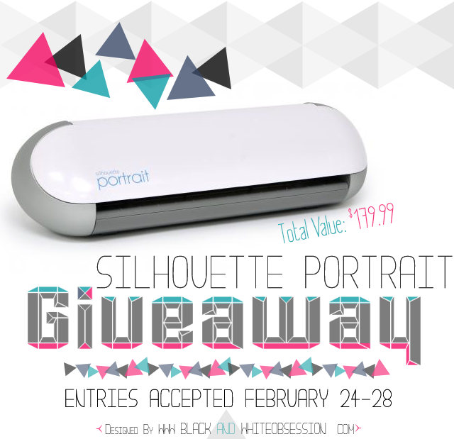 Giveaway February-Silhouette-Portrait-Link-Parties