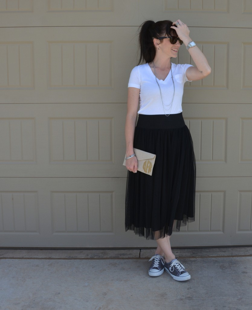 Casual Friday Link Up ~ Tulle Skirts