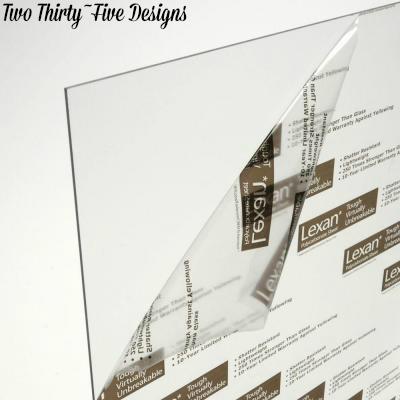 Clear Dry Erase Board TwoThirtyFiveDesigns.com