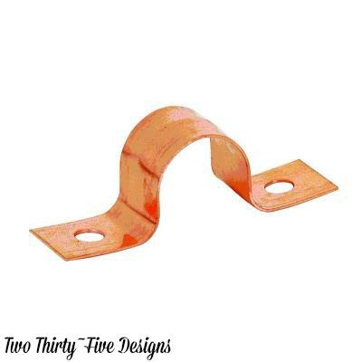 Copper Dry Erase Marker Holder TwoThirtyFIveDesigns.com