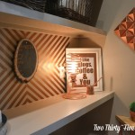 Copper Pyramid Wall Art How To TwoThirtyFiveDesigns.com