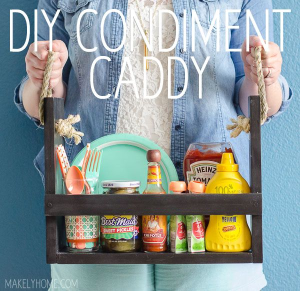 DIY Condiment Caddy TwoThirtyFiveDesigns.com
