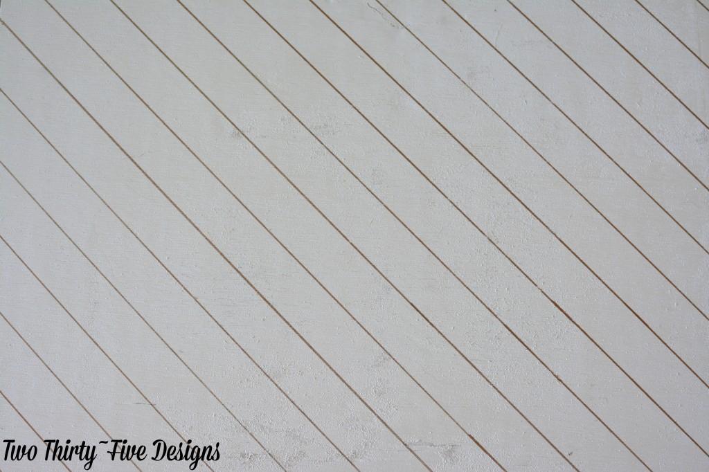 DIY Grocery List Board TwoThirtyFiveDesigns.com