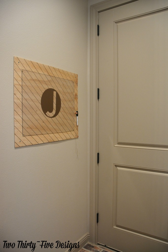 Dry Erase Board with TwoThirtyFiveDesigns.com