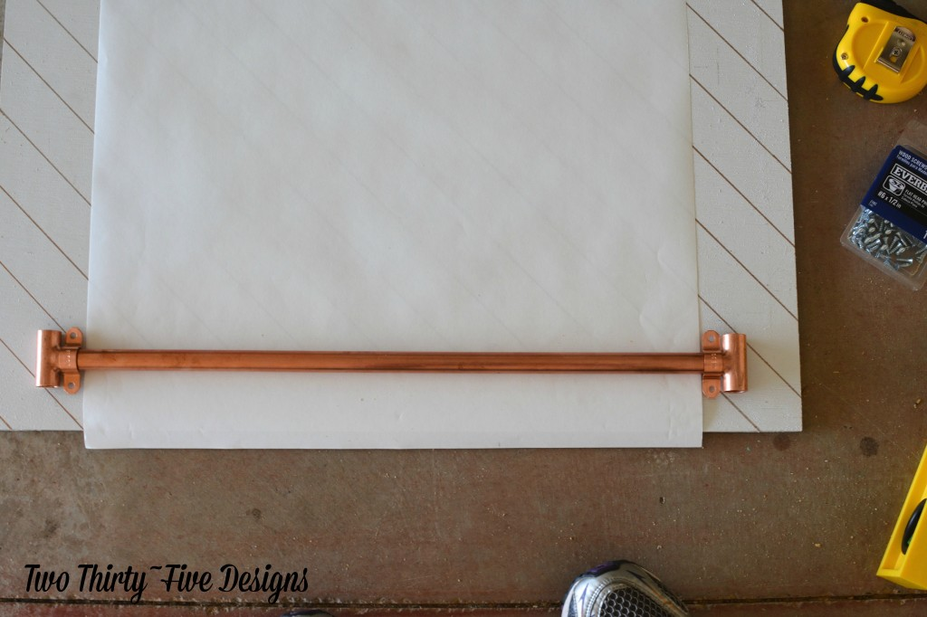 Grocery List - Copper - TwoThirtyFiveDesigns.com