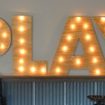 Large DIY Marquee Letters by TwoThirtyFiveDesigns