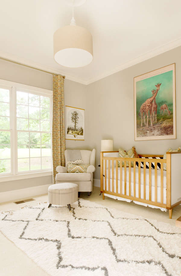 LayBabyLay Gold Nursery TwoThirtyFiveDesigns.com