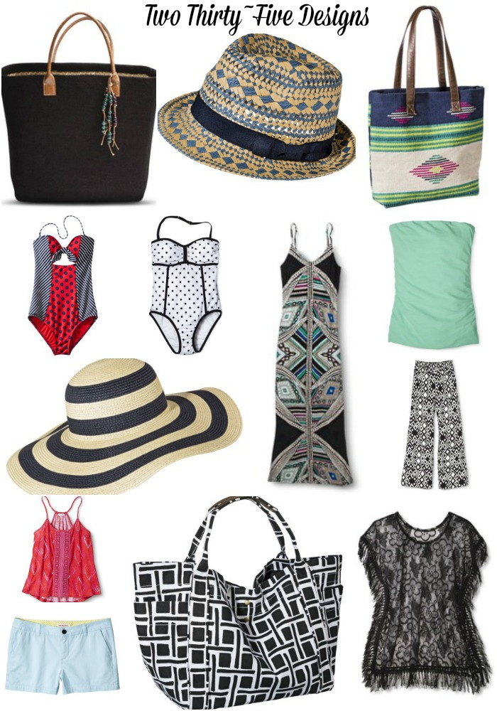 Summer Beach Wear by TwoThirtyFiveDesigns.com