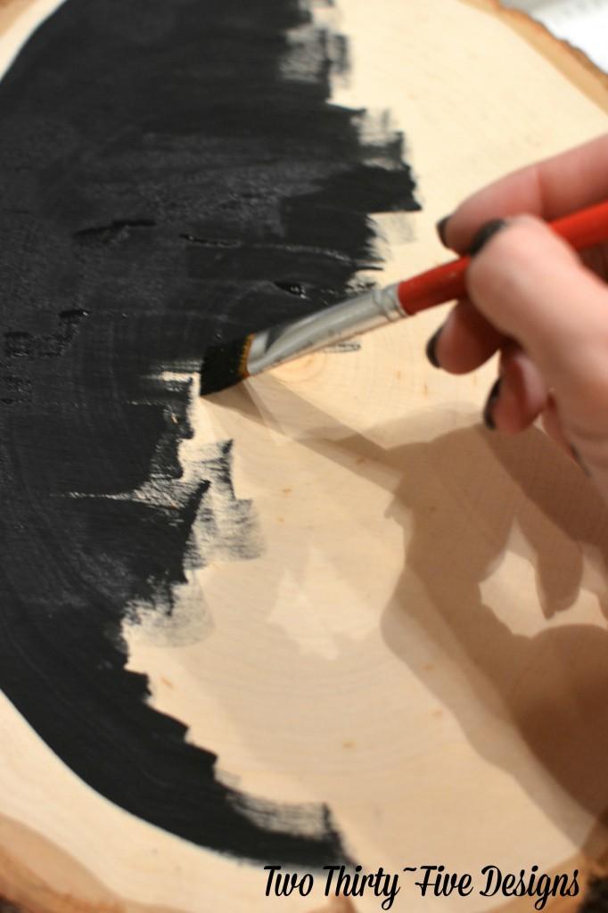 Wooden Chalkboard Menu TwoThirtyFiveDesigns.com