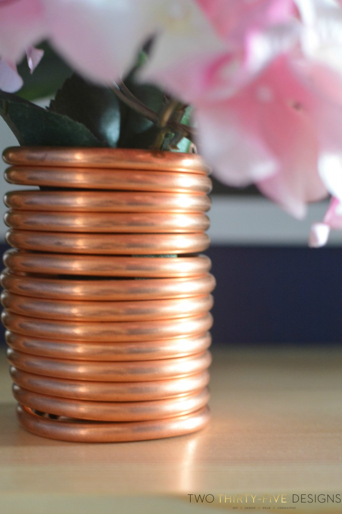 Copper Vase by TwoThirtyFiveDesigns.com
