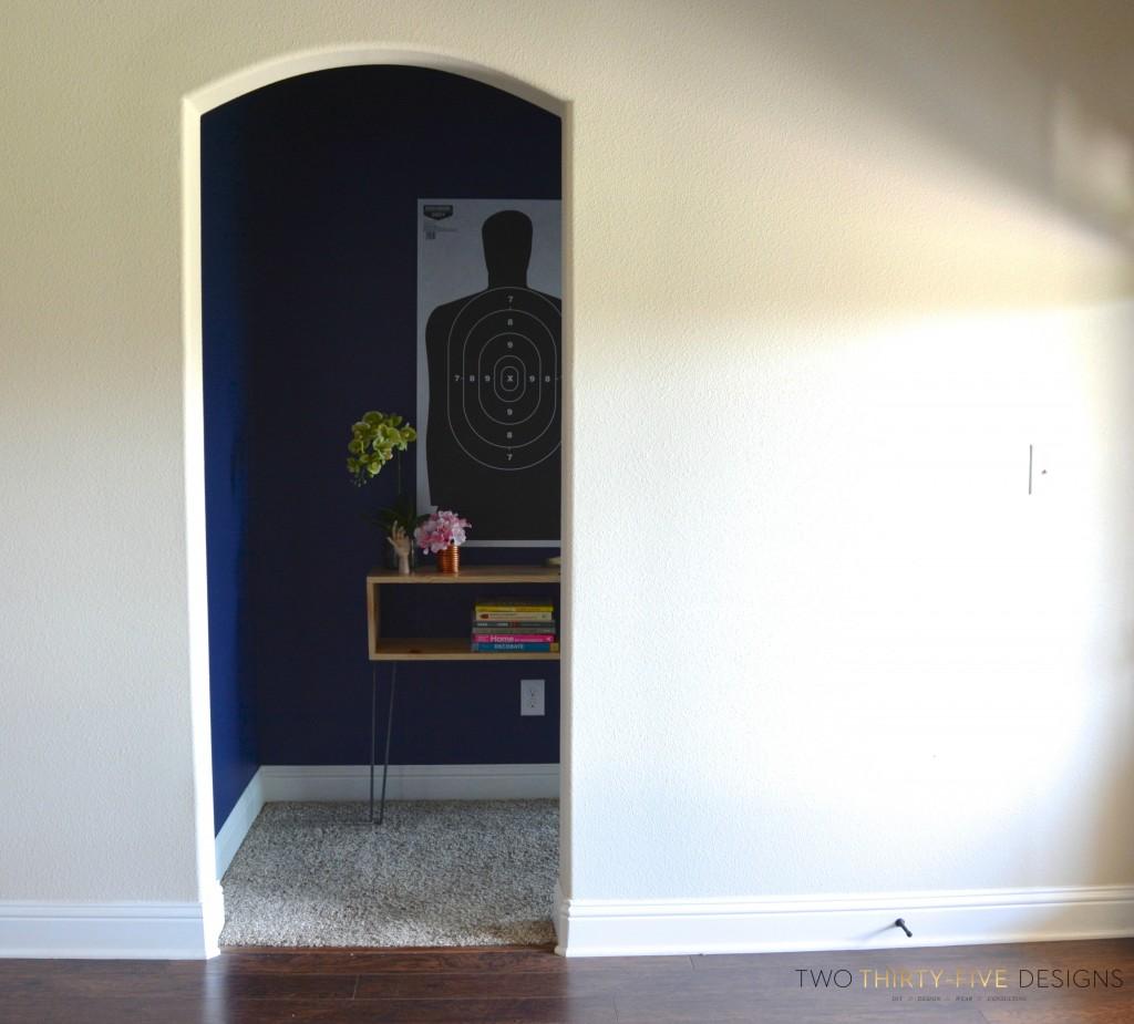 Master Hallway Makeover TwoThirtyFiveDesigns.com