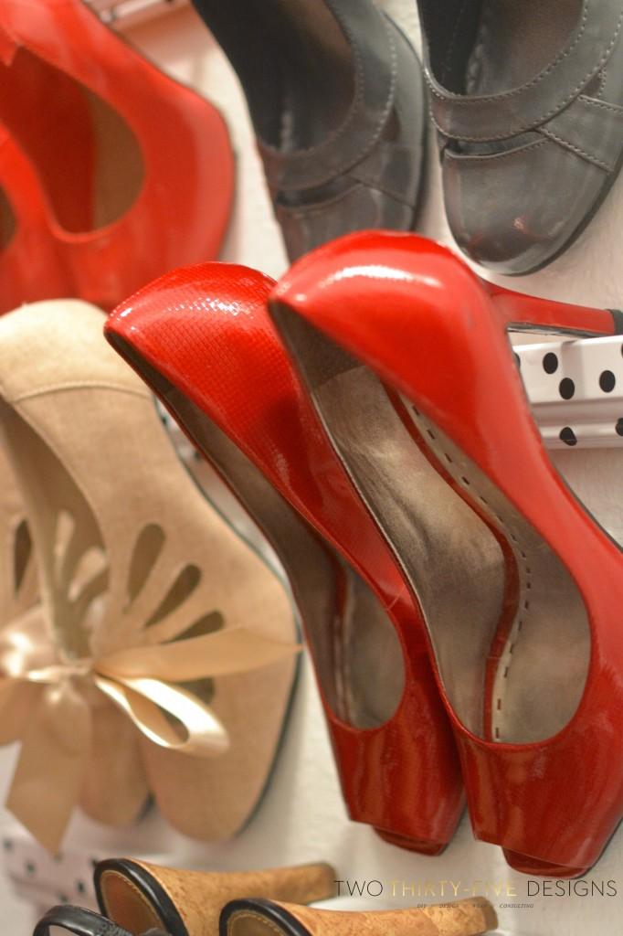 Shoe Storage TwoThirtyFIveDesigns.com