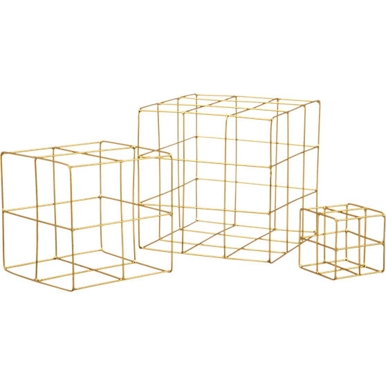 3-piece-brass-wire-cube-set-CB2