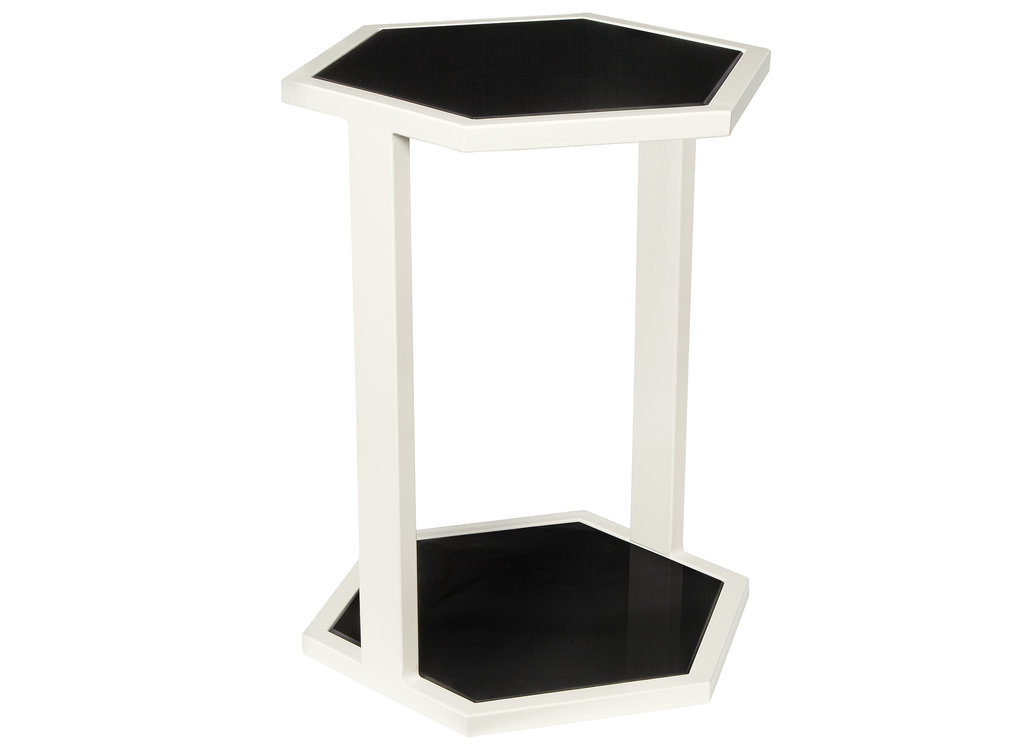 Black-white-hex-table-80-Nate Berkus Fall 2014
