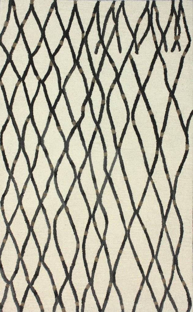 Couture Lattice Natural Area Rug