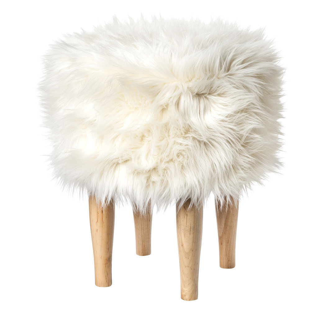 Faux-fur-stool-55-Nate Berkus Fall 2014