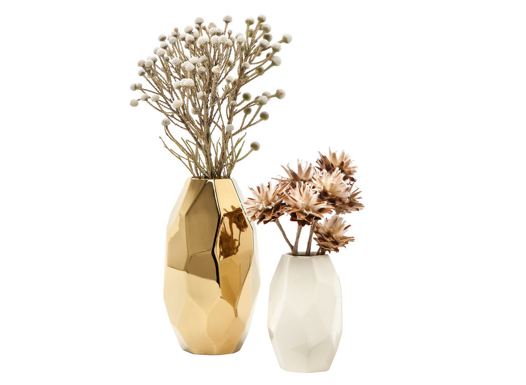 Gold-faceted-vase-15-white-faceted-vase-10-Nate Berkus Fall 2014