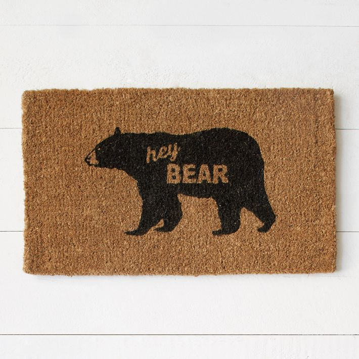 Hey Bear West Elm Rug