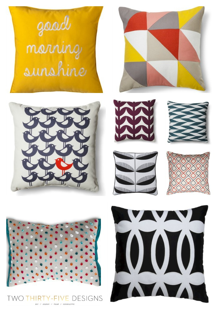 Target Back to School Pillow Sale TwoThirtyFiveDesigns