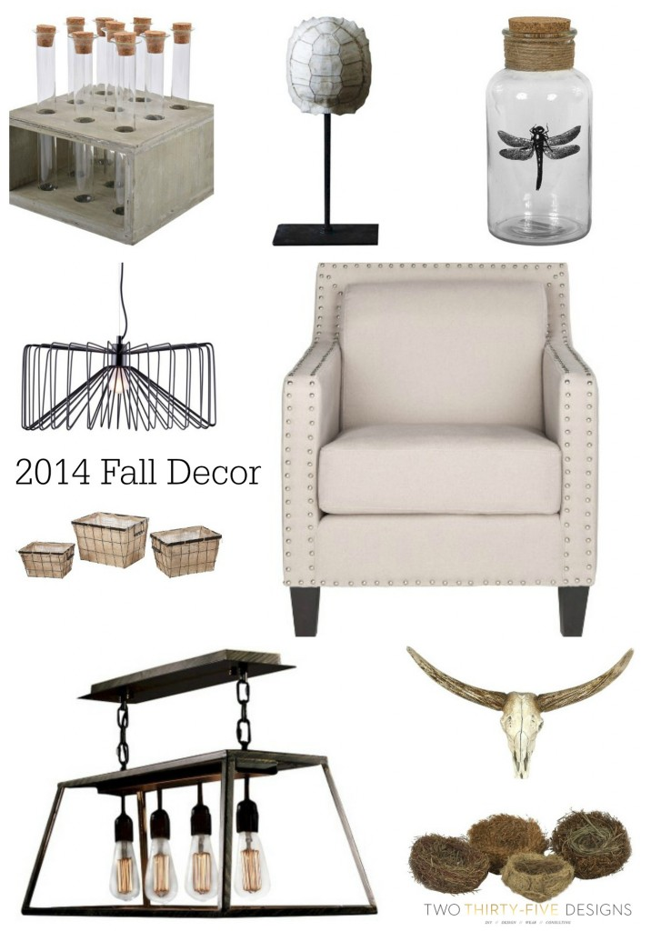 2014 Fall Decor by Two Thirty Five Designs
