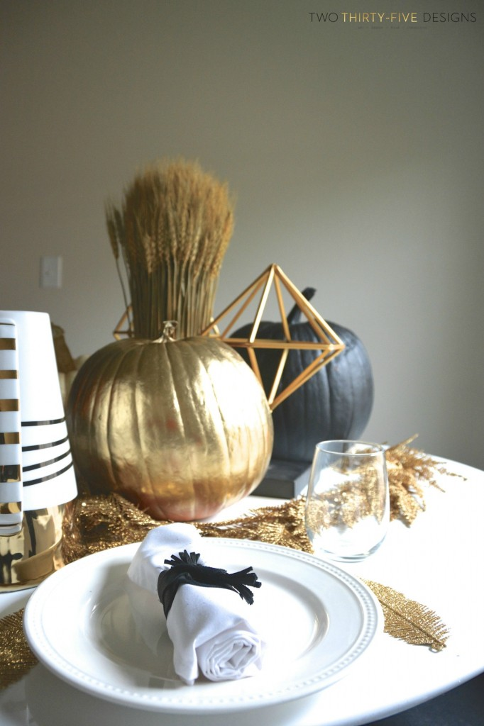 Black and Gold Fall
