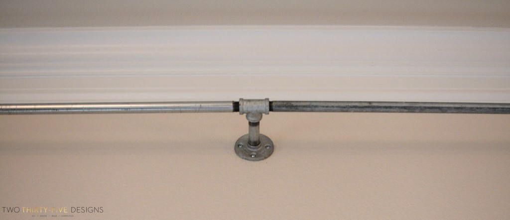 DIY Industrial Curtain Rod How-To
