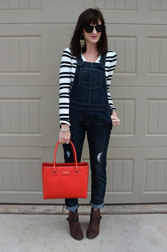 Casual Friday Link Up ~ Overalls