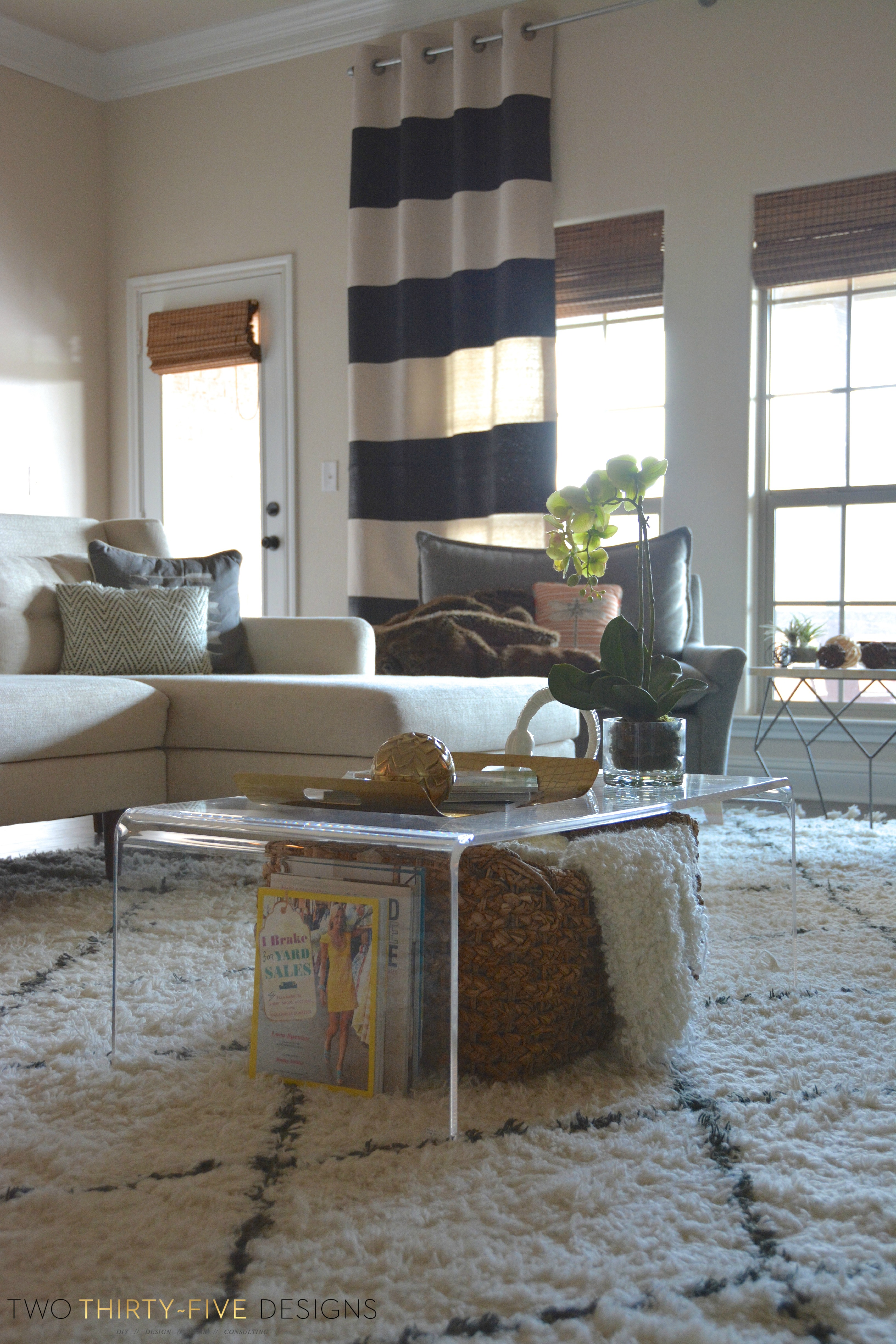Lucite Coffee Table Two ThirtyFive
