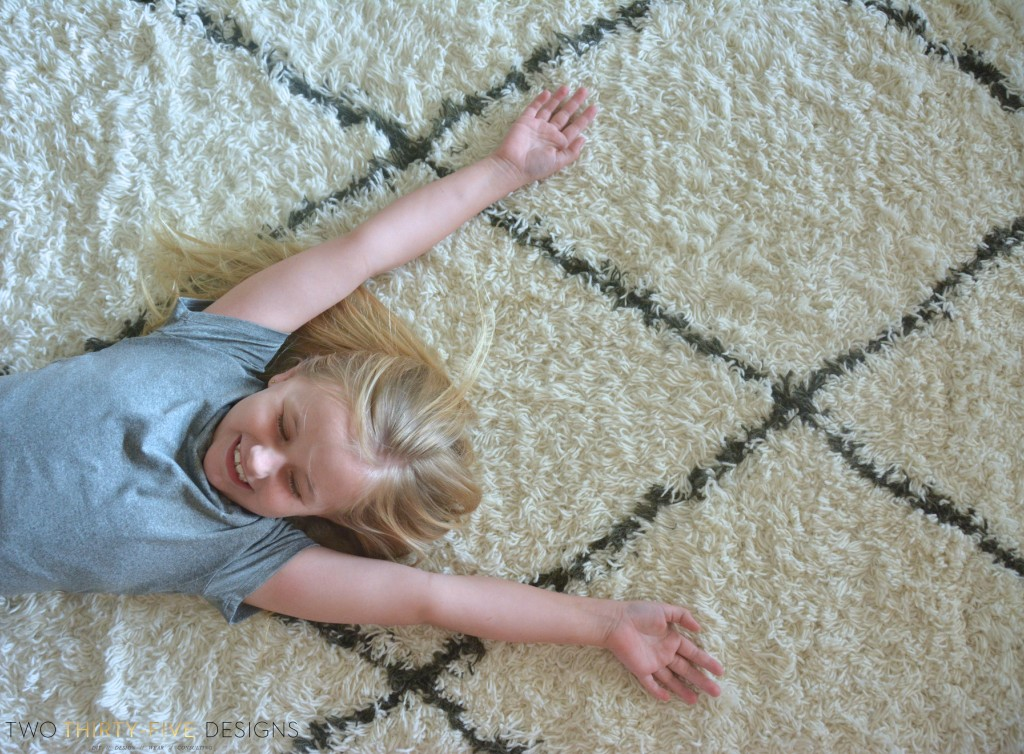 Marrakesh Shag Natural Rug by Two Thirty~Five Designs 10