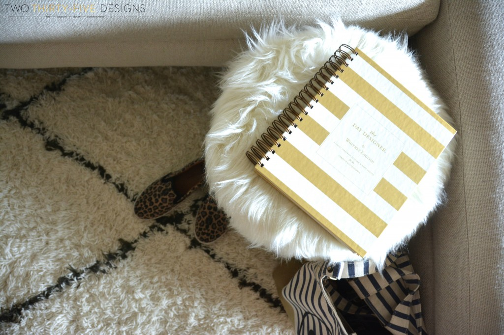 Marrakesh Shag Natural Rug by Two Thirty~Five Designs 11