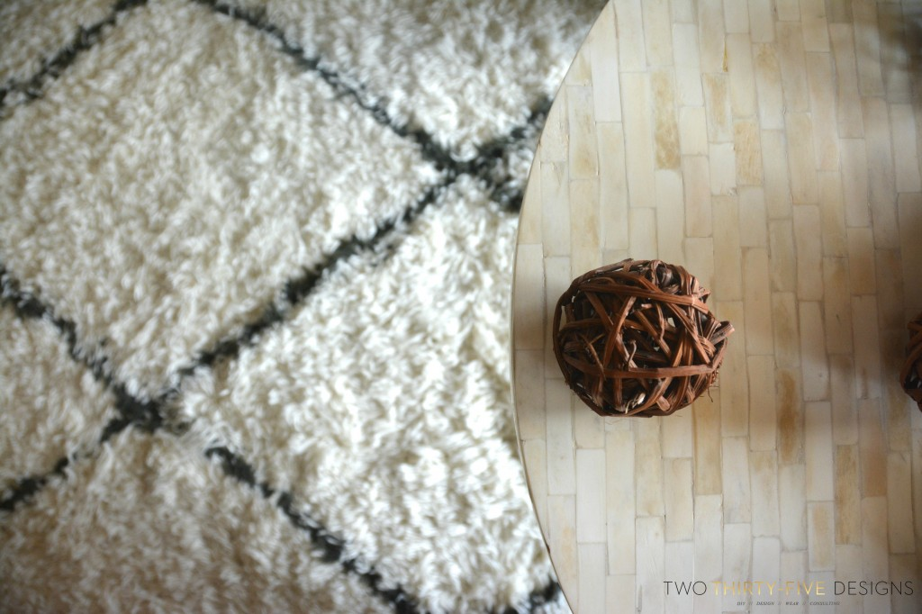 Marrakesh Shag Natural Rug by Two Thirty~Five Designs 12