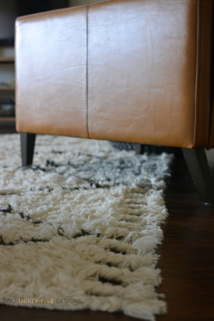 Marrakesh Shag Natural Rug by Two Thirty~Five Designs 3