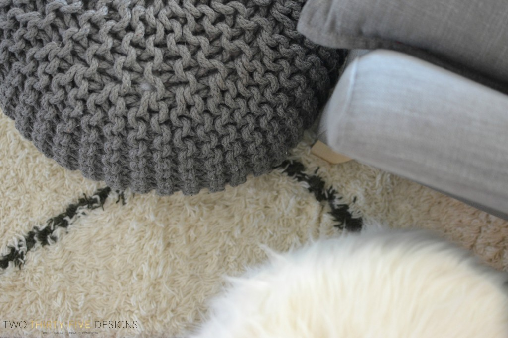 Marrakesh Shag Natural Rug by Two Thirty~Five Designs 5
