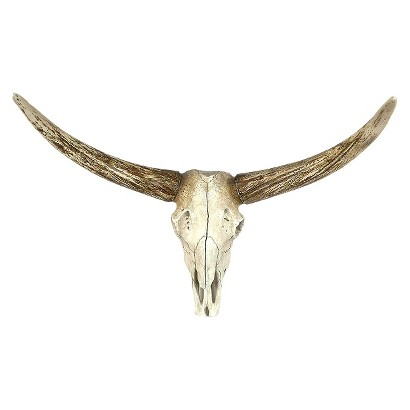 Resin Deer Skull WIth Horns