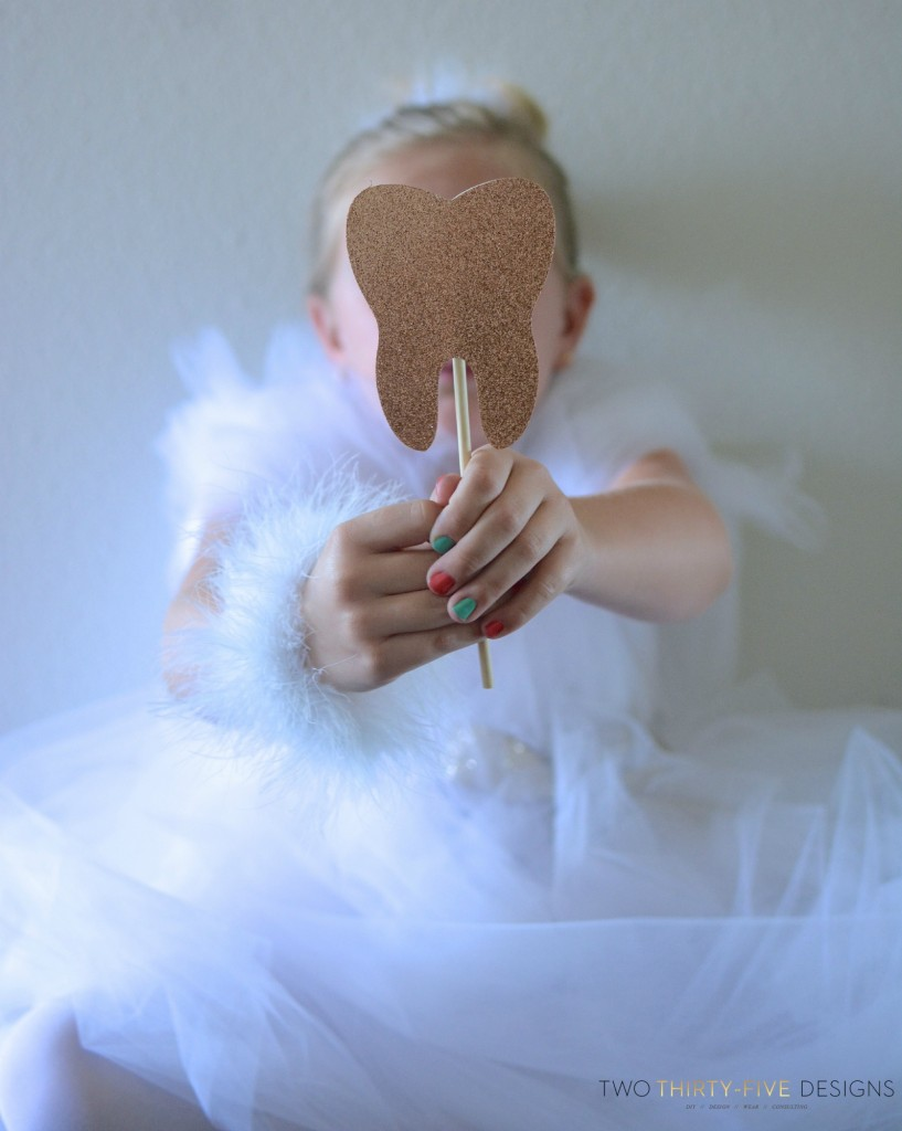 DIY Tooth Fairy Costume - Two Thirty-Five Designs