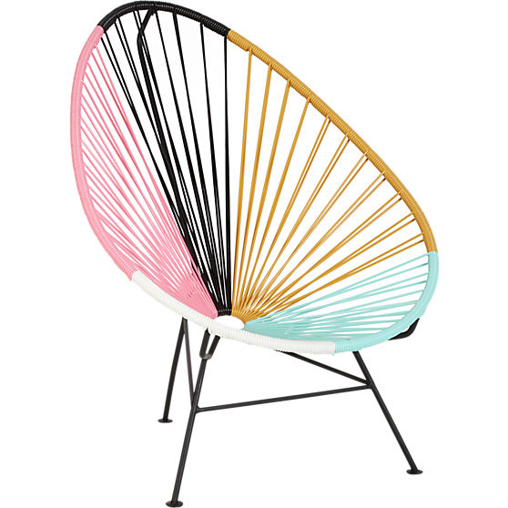 Steal It Saturday CB2 Acapulco Lounge Chair Two Thirty
