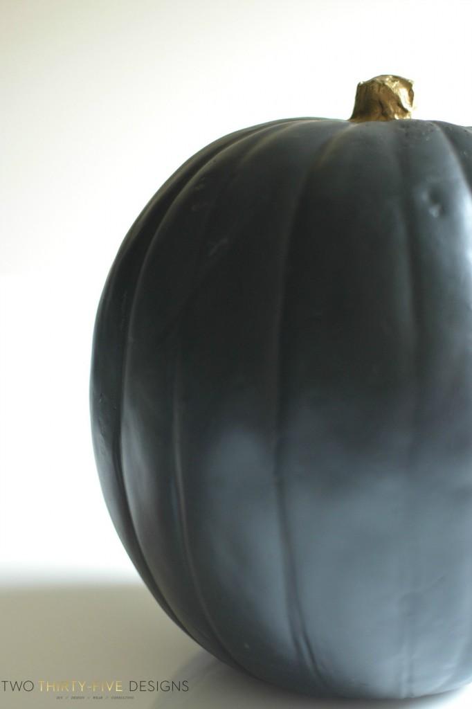 Black Sharpie Pumpkins