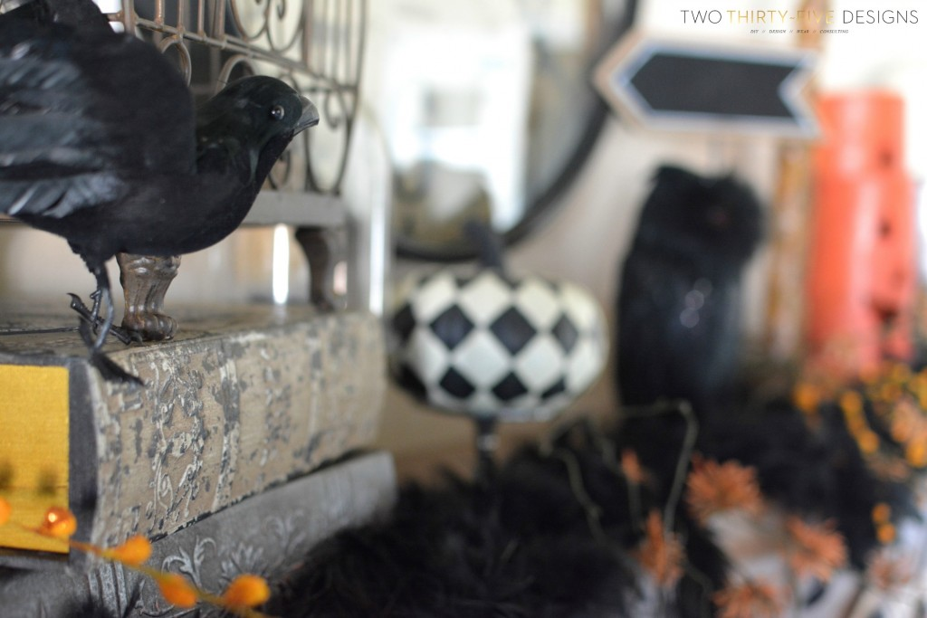 Halloween Mantel by Two Thirty~Five Designs (1)