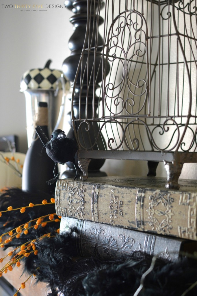 Halloween Mantel by Two Thirty~Five Designs (2)