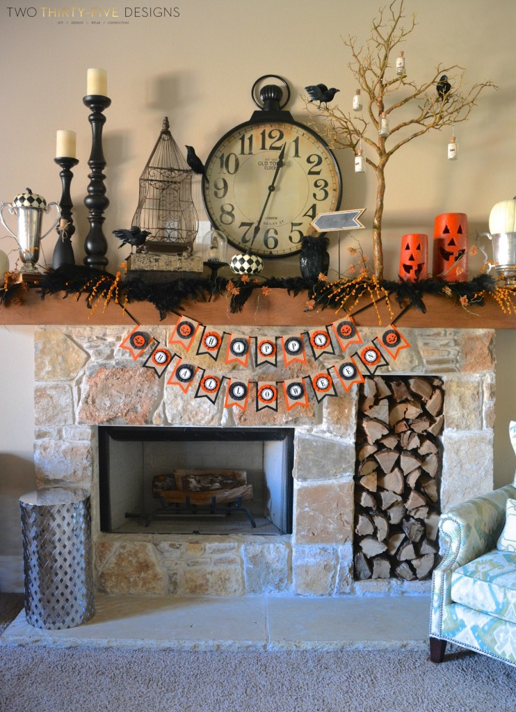 Halloween Mantel by Two Thirty~Five Designs (5)