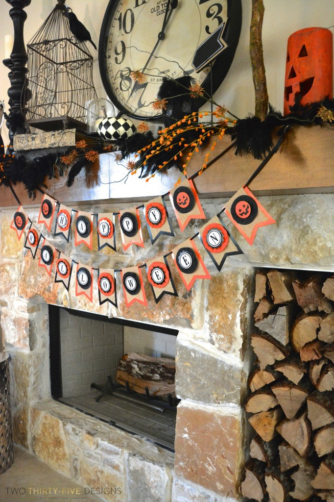 Halloween Mantel by Two Thirty~Five Designs (6)