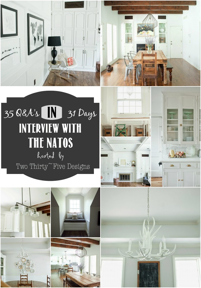 The Natos Interviewed by Two Thirty~Five Designs