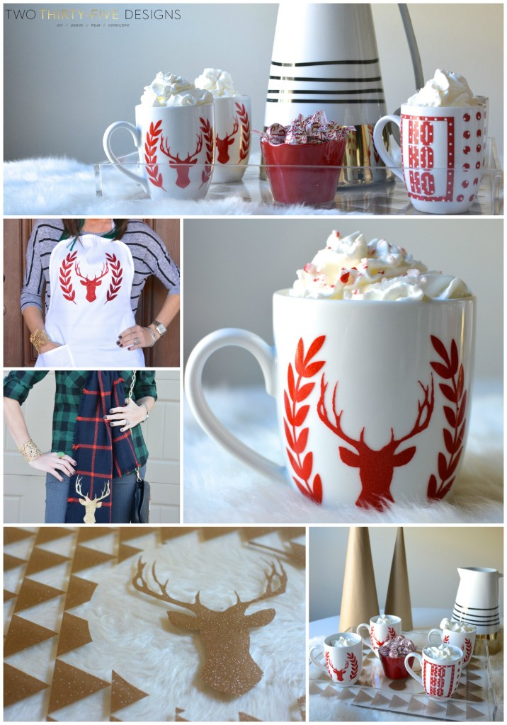 5 Easy Christmas Projects to Make Now! By Two Thirty~Five Designs