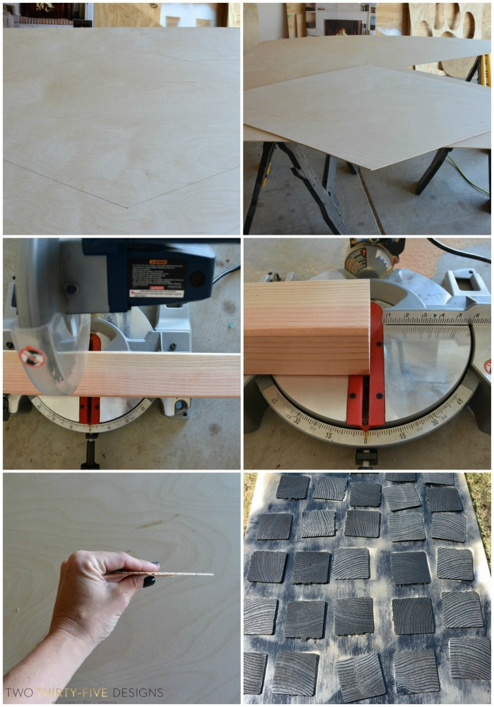 How To Make An Ikea Mantel Hack by Two Thirty~Five Designs