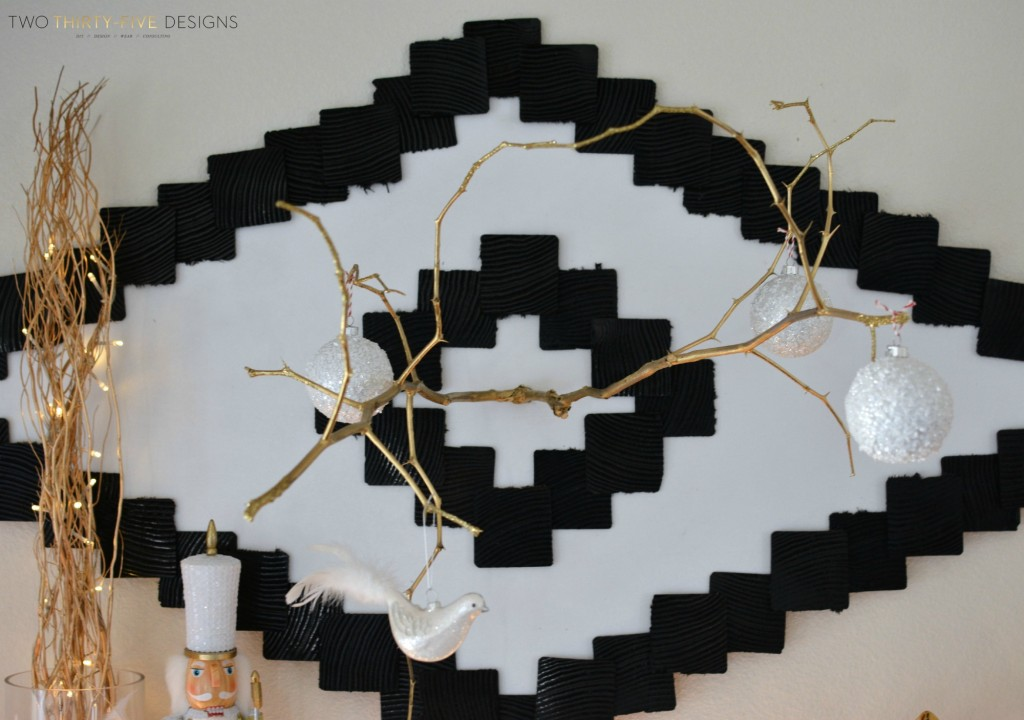 Ikea Mantel Hack by Two Thirty~Five Designs