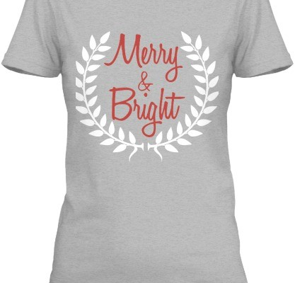Merry&Bright2014 Christmas Shirt